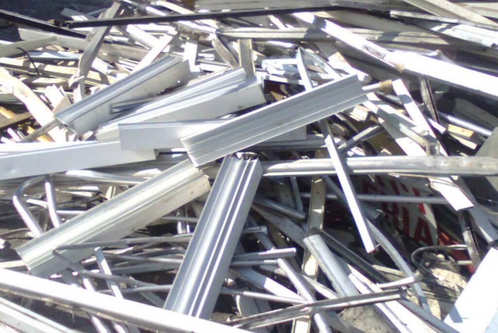 Лом алюминиевого профиля